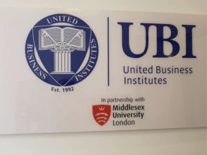 UBI United Business Institutes Βρυξέλλες